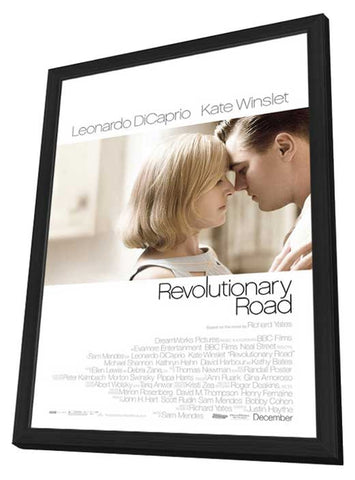 Revolutionary Road 11 x 17 Movie Poster - Style A - in Deluxe Wood Frame