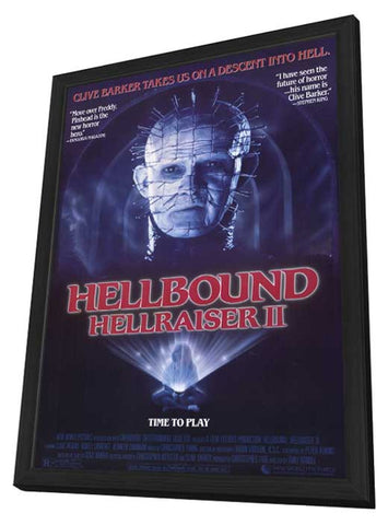Hellbound: Hellraiser 2 11 x 17 Movie Poster - Style A - in Deluxe Wood Frame