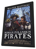 Pirates 11 x 17 Movie Poster - Style A - in Deluxe Wood Frame