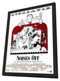 Noises Off... 11 x 17 Movie Poster - Style B - in Deluxe Wood Frame