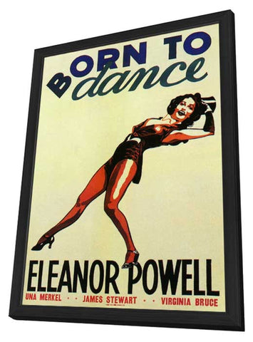 Born to Dance  11 x 17 Movie Poster - Style A - in Deluxe Wood Frame