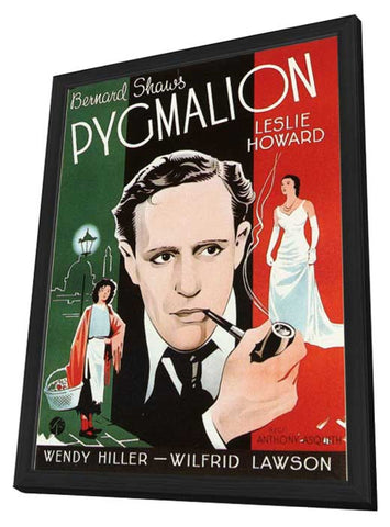 Pygmalion 11 x 17 Movie Poster - Style B - in Deluxe Wood Frame