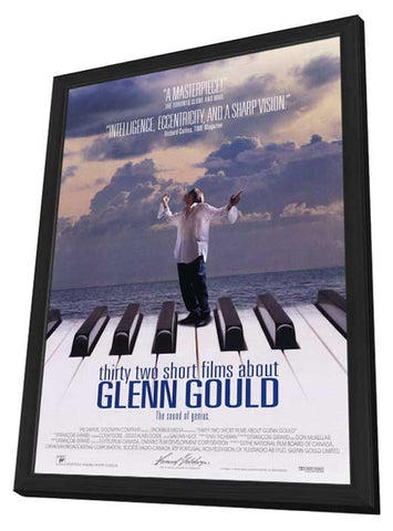 32 Short Films About Glenn Gould 11 x 17 Movie Poster - Style A - in Deluxe Wood Frame