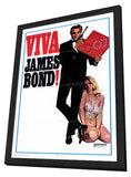 Viva James Bond 11 x 17 Movie Poster - Style A - in Deluxe Wood Frame
