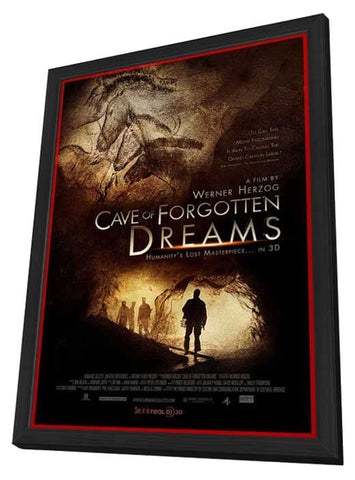 Cave of Forgotten Dreams 11 x 17 Movie Poster - Style A - in Deluxe Wood Frame