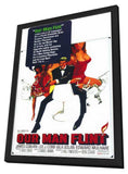 Our Man Flint 11 x 17 Movie Poster - Style A - in Deluxe Wood Frame