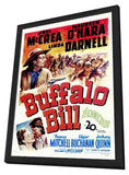 Buffalo Bill 11 x 17 Movie Poster - Style A - in Deluxe Wood Frame