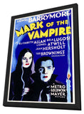 Mark of the Vampire 11 x 17 Movie Poster - Style A - in Deluxe Wood Frame
