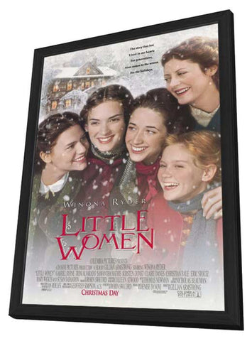 Little Women 11 x 17 Movie Poster - Style B - in Deluxe Wood Frame