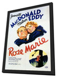 Rose Marie 11 x 17 Movie Poster - Style A - in Deluxe Wood Frame
