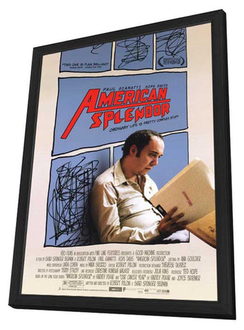 American Splendor 11 x 17 Movie Poster - Style A - in Deluxe Wood Frame