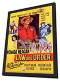 Law and Order 11 x 17 Movie Poster - Style A - in Deluxe Wood Frame