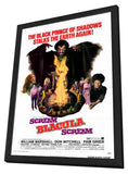 Scream Blacula Scream 11 x 17 Movie Poster - Style A - in Deluxe Wood Frame
