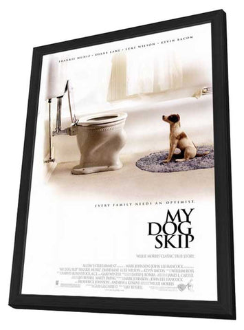 My Dog Skip 11 x 17 Movie Poster - Style A - in Deluxe Wood Frame