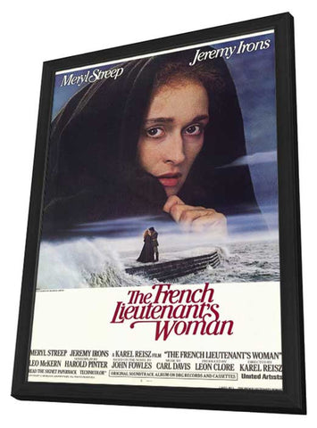 The French Lieutenant's Woman 11 x 17 Movie Poster - Style A - in Deluxe Wood Frame