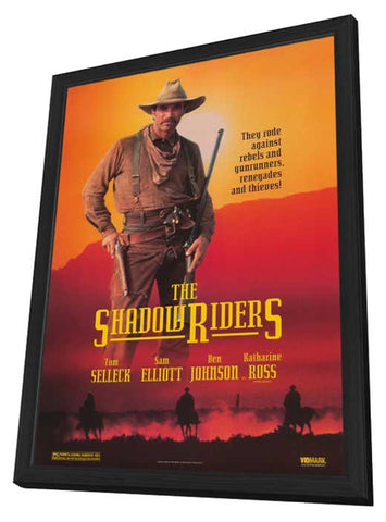 The Shadow Riders 11 x 17 Movie Poster - Style A - in Deluxe Wood Frame