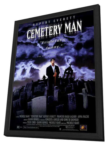 Cemetery Man 11 x 17 Movie Poster - Style A - in Deluxe Wood Frame