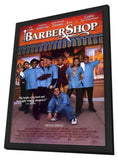 Barbershop 11 x 17 Movie Poster - Style C - in Deluxe Wood Frame