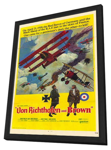 The Red Baron 11 x 17 Movie Poster - Style B - in Deluxe Wood Frame