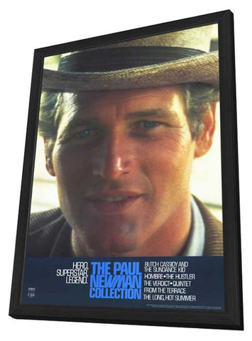 Paul Newman 11 x 17 Movie Poster - Style A - in Deluxe Wood Frame