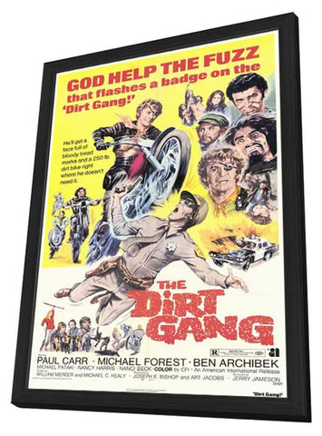 The Dirt Gang 11 x 17 Movie Poster - Style A - in Deluxe Wood Frame