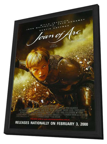 Messenger: The Story of Joan of Arc 11 x 17 Movie Poster - Style C - in Deluxe Wood Frame