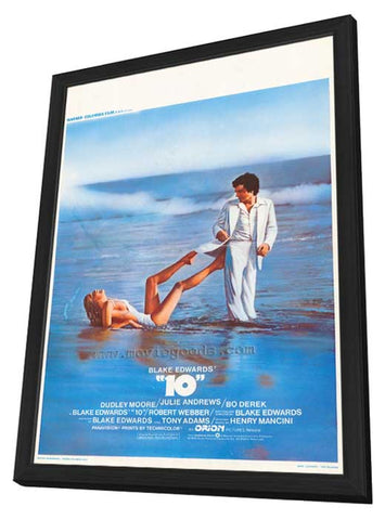 10 11 x 17 Movie Poster - Belgian Style A - in Deluxe Wood Frame