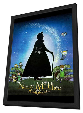 Nanny McPhee 11 x 17 Movie Poster - Style C - in Deluxe Wood Frame