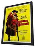 Treasure Island 11 x 17 Movie Poster - Style A - in Deluxe Wood Frame