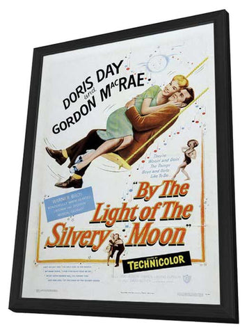 By the Light of the Silvery Moon 11 x 17 Movie Poster - Style B - in Deluxe Wood Frame