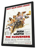 The Ambushers 11 x 17 Movie Poster - Style A - in Deluxe Wood Frame
