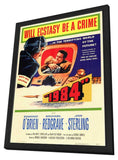 1984 11 x 17 Movie Poster - Style A - in Deluxe Wood Frame