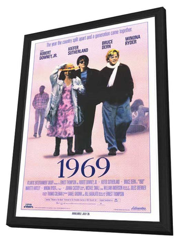 1969 11 x 17 Movie Poster - Style A - in Deluxe Wood Frame