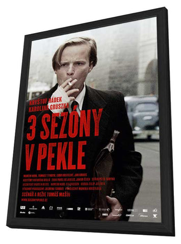 3 Seasons in Hell 11 x 17 Movie Poster - Russian Style A - in Deluxe Wood Frame