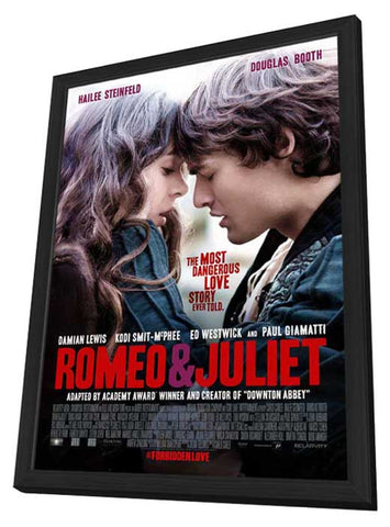 Romeo and Juliet 27 x 40 Movie Poster - Style A - in Deluxe Wood ...