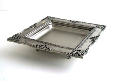 Each.  Brushed Nickel Tray