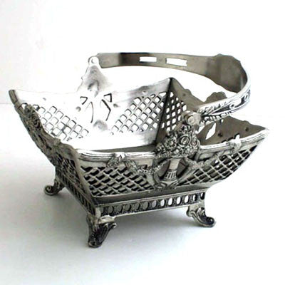 Each.  Brushed Nickel Basket