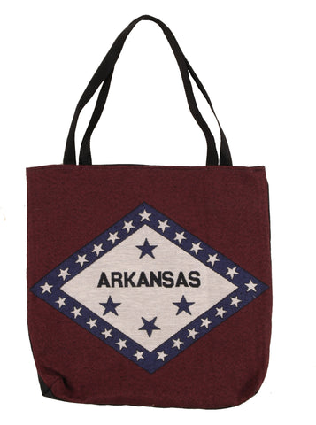 Simply Flag of Arkansas Tapestry Tote