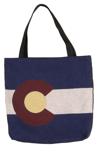 Simply Flag of Colorado Tote Bag