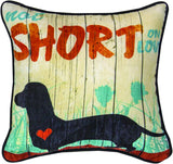 MWW Not Short On Love Kwt 12 Dye Pillow Each