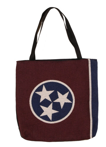 Simply Flag of Tennessee Tapestry Tote Bag