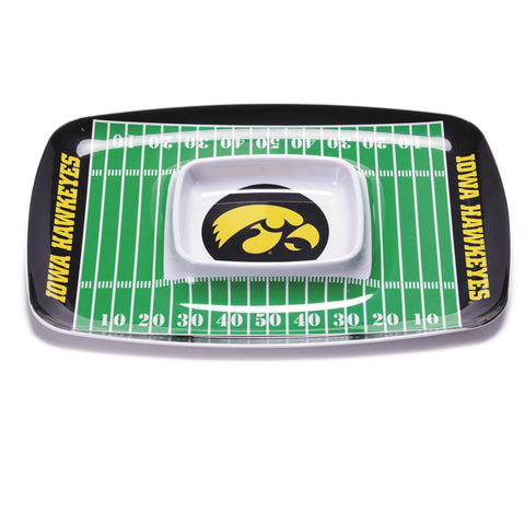 NCAA Melamine Chip and Dip Tray
