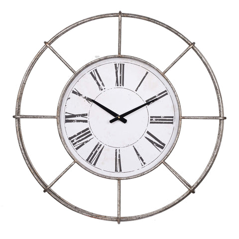 ArtFuzz D28.5x3.5 Station Wall Clock