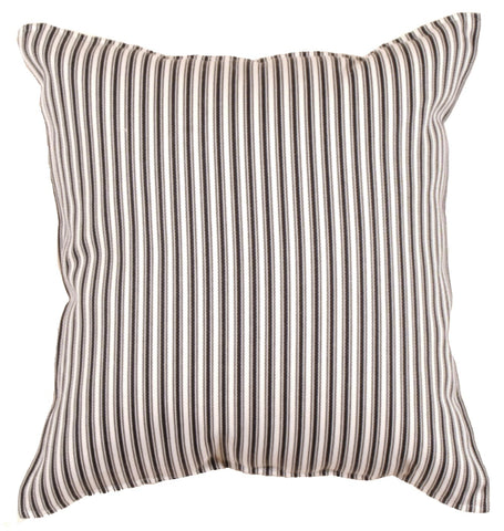 Simply Al Fresco Tic Black Outdoor Pillow