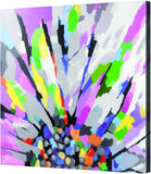 MWW Pop Art Floral Canvas Stretched Art Each