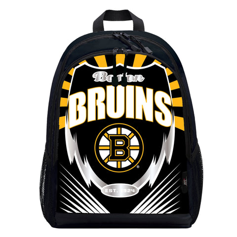 Northwest NHL Boston Bruins Backpacklightning Backpack, Team Colors, One Size