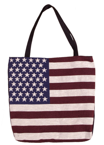 Flag of The United States Tapestry Tote Bag