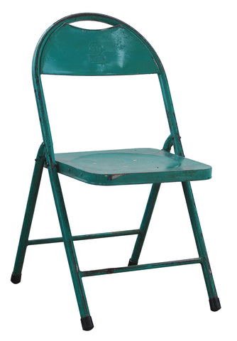 14x15x33 Antique Look Folding Chair