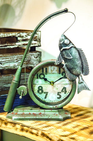 MWW Fisherman Table Clock Each