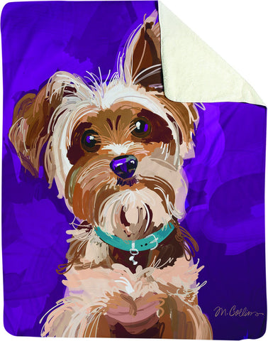 Bandit Throw Yorkshire Terrier MCO 5 Each